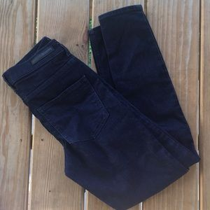 Express Dark Wash Skinny Jeans Good Condition